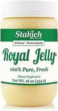 1 lb (16 oz) PURE FRESH ROYAL JELLY 100% NATURAL BEE PREMIUM HIGH STRENGTH