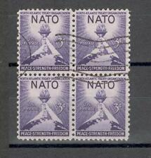 R6988 - USA 1952 - QUARTINA NATO - VEDI FOTO