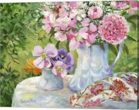 SweetPeas 'n Things by Susan Rios, Canvas Wall Art, 20W x 16H