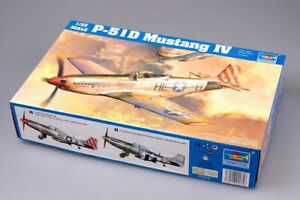 TRUMPETER 02275 1/32 WWⅡ USAF P-51D MUSTANG Ⅳ PLASTIC FIGHTER MODEL KIT