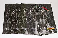 Panini CHAMPIONS OF EUROPE 2005/2006 - 5 x LEERALBUM EMPTY ALBUM NOT MINT VGC!