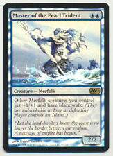 MTG Magic the Gathering M13 2013 FOIL Master of the Pearl Trident *Light Play A