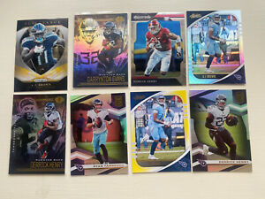 Tennessee Titans Football NFL 2020 Cards Tannehill Henry Panini