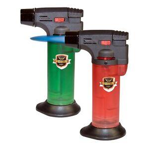 Turbo Jetflamme Laser X2 Feuerzeug Flambierer Bunsenbrenner Gasanzünder Brenner