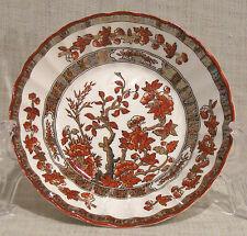 Spode Indian Tree Orange / Rust Fruit or Dessert Bowl