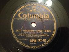"""EFREM KURTZ """"Gaite Parisienne"""" Ballet Music (Offenbach) 78rpm Aus 12"""" DOX589 NM"""