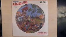 ADVENTURES IN AGAPELAND Agapeland/Sparrow Picture Disc LP 60s NEW
