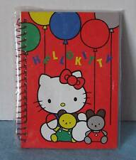 Sanrio Hello Kitty Mini Spiral Notebook Chair Balloons Vintage 1976-1989 New