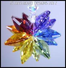 m/w Swarovski Crystal Rainbow Star Beaded Strand Sun Catcher Lilli Heart Designs