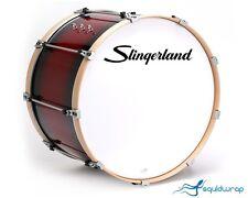 """Vintage Slingerland Logo Bass Drum Decal - BLACK 12"""""""
