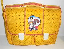 FAMIGLIA CUORE - HEART FAMILY 80s Mattel school bag - cartella scuola trapuntata