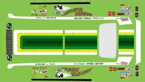1/16 GREEN ELEPHANT 1972 VEGA FUNNY CAR DECAL/REVELL/MPC/POLAR LIGHTS/AMT