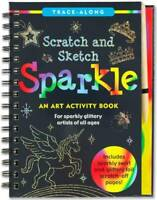 Scratch & Sketch Sparkle (Trace Along) - Hardcover By Martha Day Zschock - GOOD