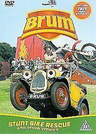 Brum - Stunt Bike Rescue [DVD], Good DVD, Mike Eastman, Lisa Allen, Mike Cavanag