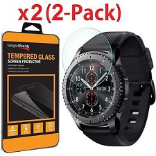 2 Pack  Tempered Glass Screen Protector For Samsung Gear S3 Frontier