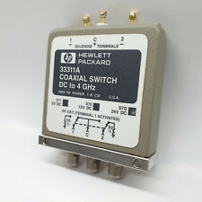 HP Hewlett Packard 33311A Coaxial Switch DC To 4GHz STD 24VDC