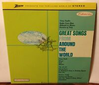 Great Songs From Around The World Zenith Vinyl Album CSP 146 Columbia Records