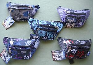 Hawaii Spirit Fanny Pack Folderble Travel Shopping Waist Pouch Eco Bag EX-11