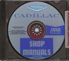 CADILLAC 1959 - 1960 Shop Manual '59 - '60 CD-ROM