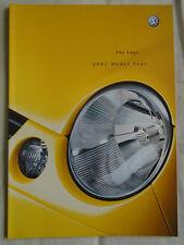 VW Lupo GAMA FOLLETO 2002 Modelo año pub Mayo de 2001