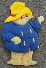 "Eden Toys/Infantino Paddington Bear Plush Wall Hanging, 1990, 20"", Made in Usa"