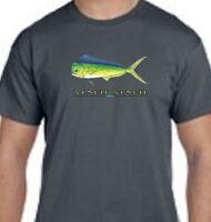 Mahi Mahi Dolphin Ocean Deep Sea Fishing Tee T-Shirt New