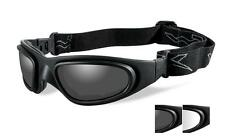 Wiley X SG-1 Smoke Grey/Clear/Matte Black Goggles - 71