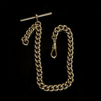 Stunning Vintage Looking 9ct Rolled Gold Albert Chain