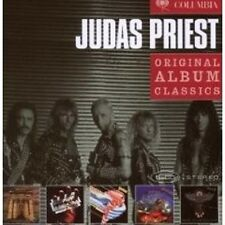 "JUDAS PRIEST ""ORIGINAL ALBUM CLASSICS"" 5 CD BOX NEW"