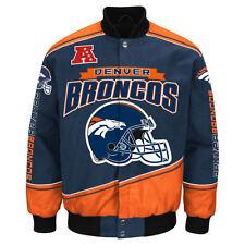 Denver Broncos NFL Enforcer Jacket - Size Adult Large Free Ship