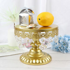 Gold Mirror Surface Wedding Dessert Tray Wedding Party Birthday Decoration  xg
