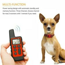 New listing Dog Training Collar Remote Waterproof Electric Pet Shock Collar Usb Rechargeable