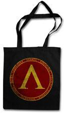 SPARTA STOFFTASCHE Polis Spartaner Spartiaten Logo 300 Leonidas Symbol Sign