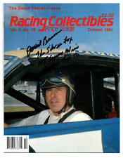 David Pearson original hand signed autographed Racing Collectibles magazine