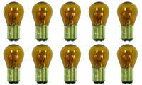 CEC Industries #1157A (Amber) Bulbs, 12.8/14 V, 26.88/8.26 W, BAY15d Base, S-8