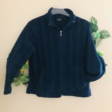 Bobbie Brooks blue Thick fleece jacket size Large