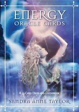 ENERGY ORACLE CARDS - TAYLOR, SANDRA ANNE - NEW PAPERBACK BOOK