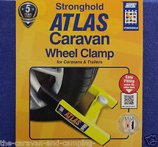 Stronghold ATLAS Caravan Wheel Clamp - Sold Secure GOLD Approved