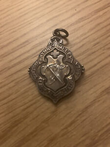 Welsh Mining Medal Silver Rhymney Valley Mines Rescue