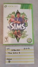XBOX 360 / The Sims 3 / EA Games Very Good Condition Video Game 81117