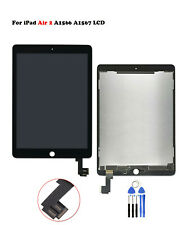 New For iPad Air 2 A1566 A1567 LCD Display Touch Screen Digitizer Assembly Black
