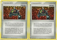 2x EXP.ALL 91/112 FIRE RED LEAF GREEN Pokemon Cards- REV HOLO -MINT-2004 RELEASE