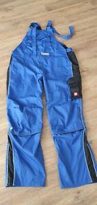 Engelbert Strauss  Latzhose Arbeitskleidung Blau-Schwarz Gr.68 , 9XL neu