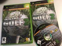 * Original Xbox Game * OUTLAW GOLF 2 * X Box