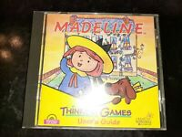 Madeline Thinking Games (PC,1996) *BUY 2 GET 1 FREE +FREE SHIPPING*