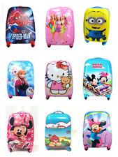 Disney Boys Girls Children Kids Holiday Travel Hard Shell Suitcase Luggage Bags