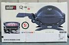 Weber Q-1200 Portable Propane Gas Grill - Black- NEW photo