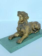 Bronze French Sphinx