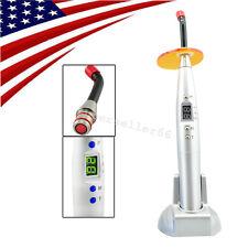 USA fast Dental LED Curing Light Lamp 5W Wireless Cordless 1500mw new GUN type