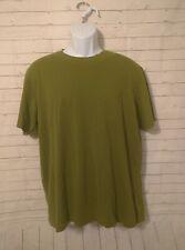Men's Eddie Bauer Essential Tee Solid Green Tshirt, Size L